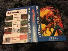 Splatterhouse 3 SEGA Mega Drive PAL Version - Custom Game - Grade AAA+++