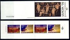 Greece- 1998 Europa Cept Booklet MNH**