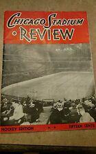 RARE Historical 1936 Chicago Black Hawks Stadium Review Program NHL CHAMPIONS VG