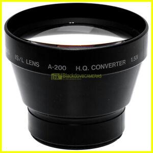 Olympus IS/L A200 HQ Converter 1,5x aggiuntivo Tele Obiettivo diametro 49mm.
