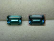rare Teal Blue Tourmaline Teal Green Color Shift Gem Mozambique gemstone NATURAL