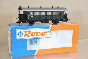 ROCO 44824 DB GREEN 3rd CLASS LOCAL PASSENGER COACH 09301 BOXED ptl