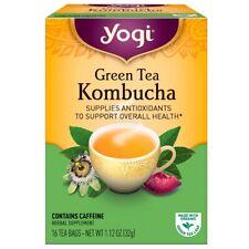 Yogi Tea, Bio, Thé Vert Kombucha, 16 Sachets de Thé, 1.12 OZ (environ 31.75 g) (...