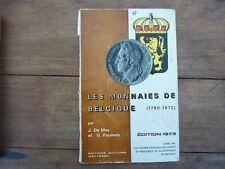DE MEY J. & PAUWELS G. Les monnaies de Belgique 1973 (1790-1972) (198)