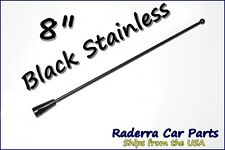 "8"" Black Stainless AM FM Antenna Mast FITS: 1992-2005 Chevrolet Tahoe"