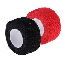 2 Rolls Durable Cotton Sports Golf Golfer Finger Grip Tape Protective Wrap