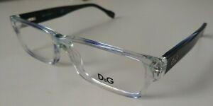 D&G Dolce Gabbana DG 1203 1769 in Blue 52-15-135 Flex Hinges Authentic New