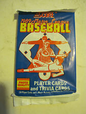 Pack of 1989 Score Major League Baseball and Trivia Cards (GS2-9)