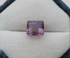 Amethyst Emerald gem 10.5 x 9mm