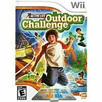 Active Life Outdoor Challenge - Nintendo Wii game Authentic