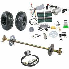 Go Kart ATV Rear Axle kit+ 145/70-6 Wheels+ Brushless 48v 1800w Motor Controller