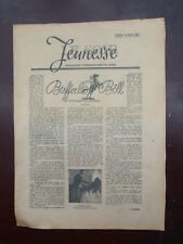 Tintin - Le Soir-Jeunesse -  Crabe aux pinces d'or - 15 mai 1941 -TBE!