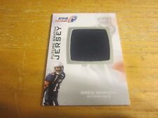 Greg Garmon 2012 Upper Deck USA Football Future Swatch #FS20 Relic Card Team USA