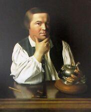 Vintage Art John Singleton Copley Rebecca Boylston Lady Paul Revere Silversmith