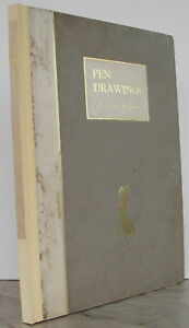 Norman Lindsay (1879-1969) 1924 Rare Signed Large Art Book Pen Drawings Nudes