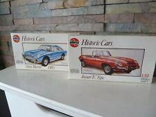 classic AIRFIX HISTORIC CARS ASTON MARTIN DB5 / JAGUAR (02406 / 2415) 1 : 32