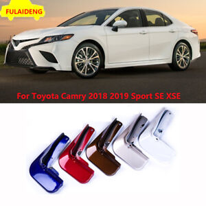 For Toyota Camry Sport SE XSE 2018-2021 Painted Mud Flaps Splash Guards Mudguard