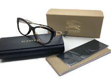 Burberry B 2210 3002 Cat Eye Women's Dark Havana 53MM Genuine Eyeglasses MIB