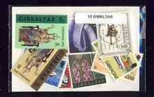 Gibraltar 10 sellos diferentes