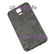 New Battery Back Cover Door For Samsung Galaxy S5 Active G870 G870A Camo Green