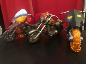 MARVEL LEGENDS Custom Motorcycle Lot Ghost Rider Hellcycles