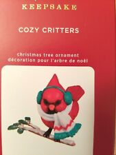 New ListingHallmark 2020 Cozy Critters Series Ornament