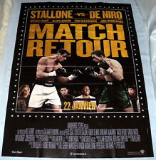 GRUDGE MATCH Sylvester Stallone Boxing Robert De Niro LARGE French POSTER