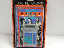 VINTAGE Texas Instruments NUMBER BEAT Calculator