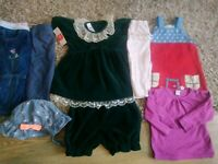 Baby Girls Clothes Bundle 6-9 months