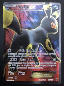 Carte Pokemon NOCTALI 119/124 Ex Full Art XY10 FR NEUF