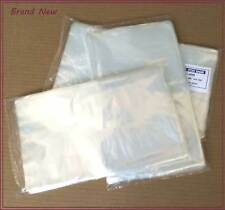 100 Clear 6x10 Light Duty 1 MIL Thick Poly Bags Flat Open Top #5390