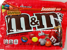 M&M's Peanut Butter Sharing Size 9.6oz Bag 272.2g USA Import Xmas Gift?