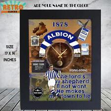 Reloj de pared West Bromwich Albion Fútbol Retro Personalizadas partidarios de metal