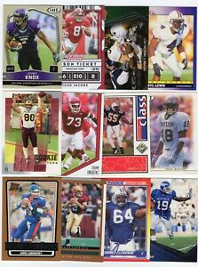 Lot of 100 Different College Uniform Football Cards From 100 Different Colleges