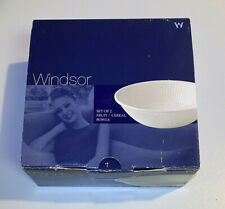 New Listing2 Bowls ~ Wedgwood Windsor Cereal / Fruit Bowls ~ Made In England New In The Box