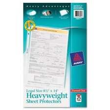 Avery Top Load Polypropylene Sheet Protector Heavy Legal Diam 077711738973