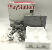 Sony PlayStation PS1 SCPH-5500 Video Game Console NTSC-J Japanese BOXED COMPLETE