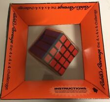 RUBIK'S REVENGE PUZZLE IDEAL TOY CORP 1982 Rubik's Cube Vintage