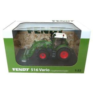 1/32 High Detail Fendt 516 Vario Tractor with Loader by Universal Hobbies UH4981