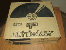 rpm the Whisker vintage turntable auto Record cleaner