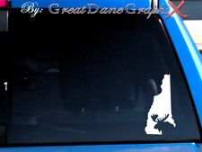 New Hampshire Moose Hunting State Vinyl Decal Sticker / Color - HIGH QUALITY