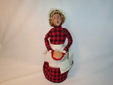 Byers Choice Retired and Limited 1998 Paper Store Apple Harvest Woman