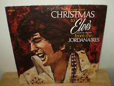 """THE JORDANAIRES...""""CHRISTMAS TO ELVIS FROM THE JORDANAIRES""""......HOLIDAY ALBUM"""