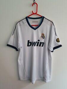 Real Madrid 2012 Home Shirt Medium