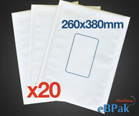 20x Bubble Padded Mail Envelopes Postage Supply Mailer Shipping Post Bag Size 05