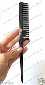 Hairdressers Barbers Pin Tail Rat Comb with Carbon content it wont deform 2Combs