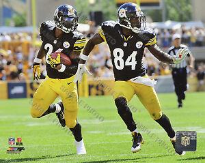 Le'Veon Bell & Antonio Brown Pittsburgh Steelers Photofile 8x10 Photo