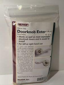 Ableware Door Knob Doorknob Extender - Pack of 2 - 75416-1002 Maddak