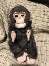 FurReal Fur Real Friends New Born Baby Chimp Monkey Interactive Hasbro 2009 Toy