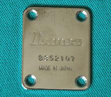 1985 Ibanez RS335 Roadstar II Electric Guitar Neck Original Neck Plate Japan